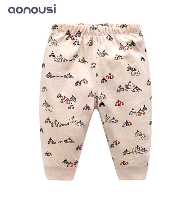 Baby clothes Spring Autumn cotton pants 0-3 years old girls boys bulk clothing