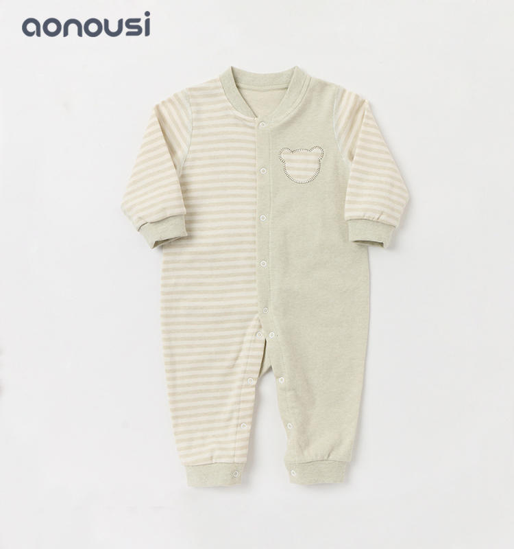 Baby jumpsuits wholesale boys girls baby long sleeves climb cotton clothes