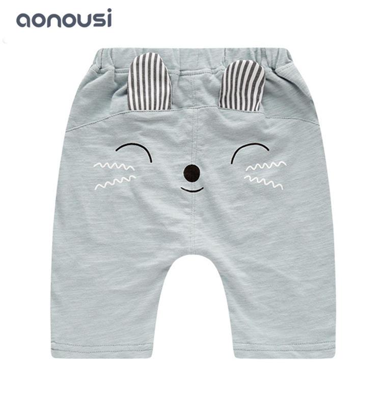 wholesale boys clothing baby summer smile printing shorts