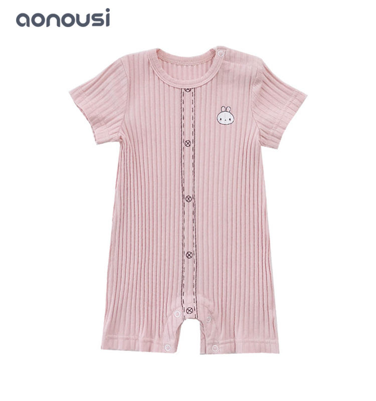 Kids jumpsuits summer new style calf printing infant clothes boys girls boutique wholesale