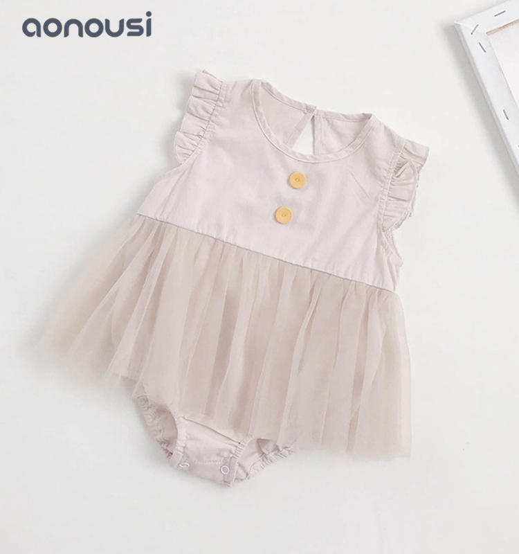 Children clothes summer lace climb suits cute princess clothes wholesale girls clothing china
