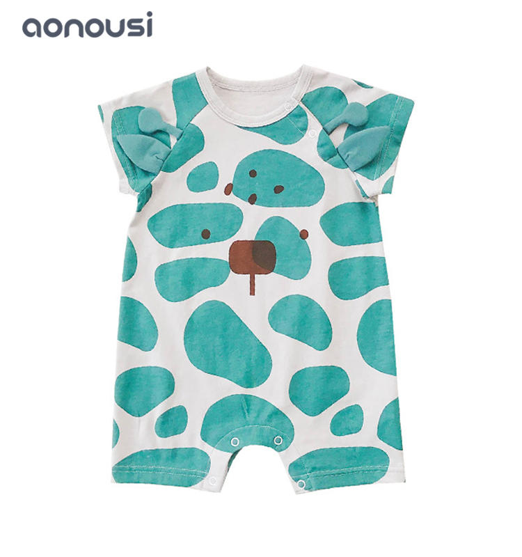 Children clothing 2019 infant short sleeves climb suits wholesale girls boys clothes