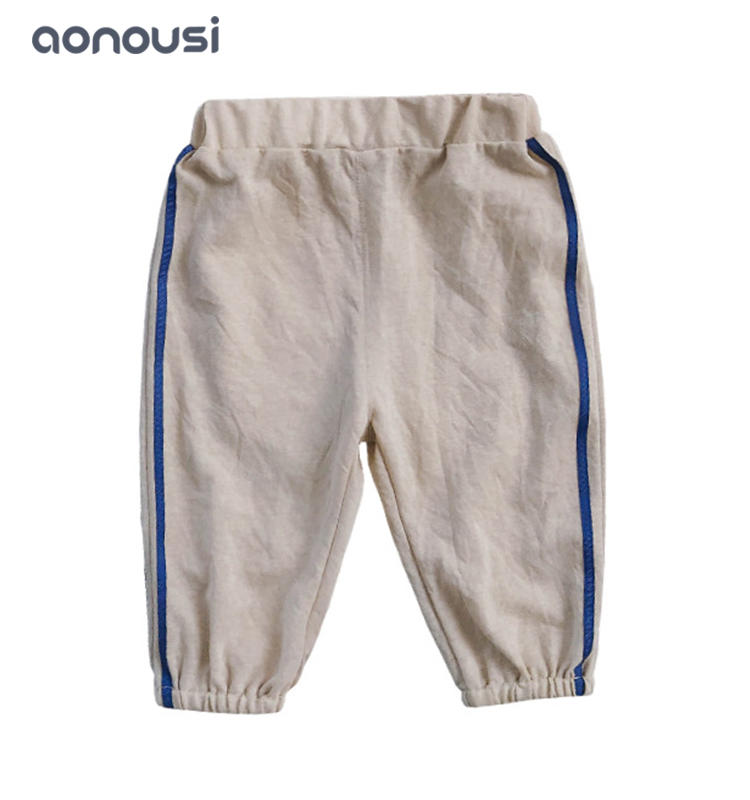 Children casual pants baby outside pants loose soft pants wholesale girls clothes