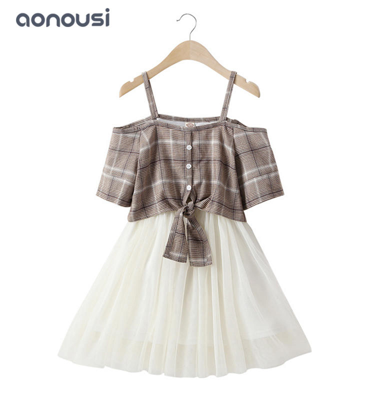 Kid clothing fashion Korean version girls dresses wholesale girls dresses