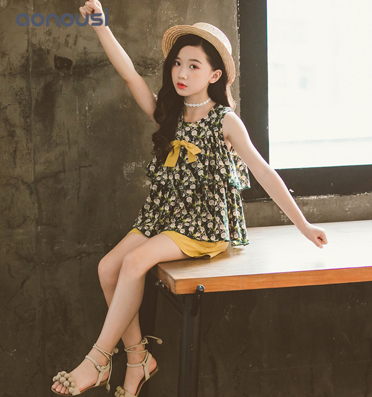 Aonousi autumn girls sets of clothes Supply for girls-Childrens Clothing Wholesale,Wholesale Kids Cl