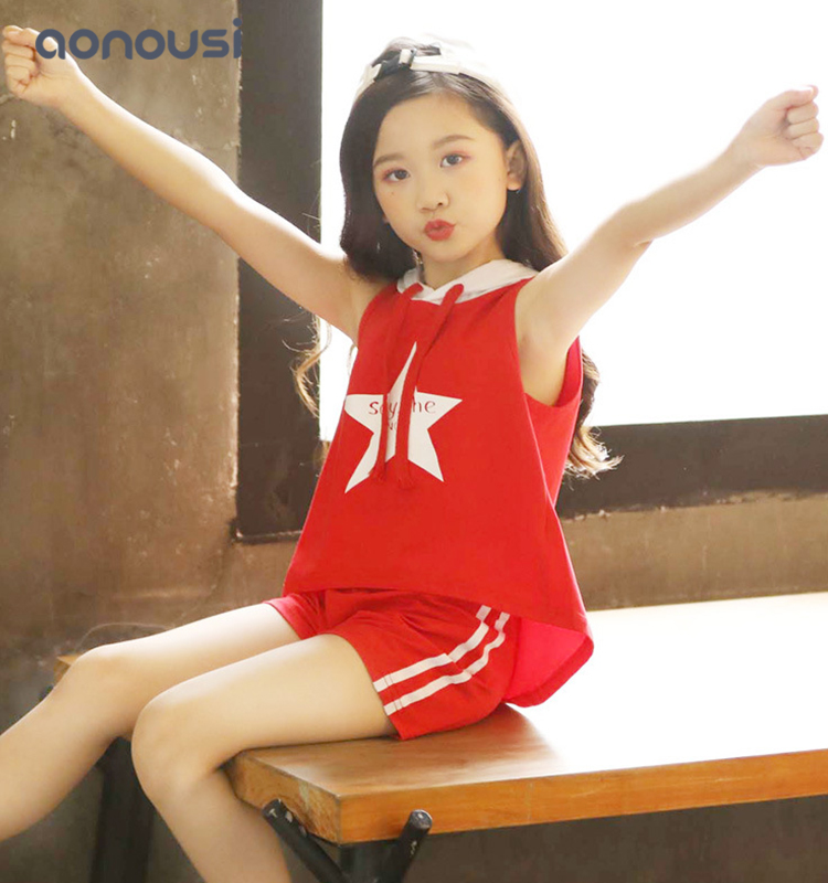 Aonousi selling girls fashion set for kids-Aonousi-img