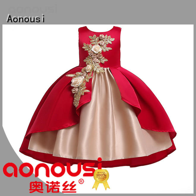 Aonousi Wholesale 2 year old baby girl party dresses for business for girls