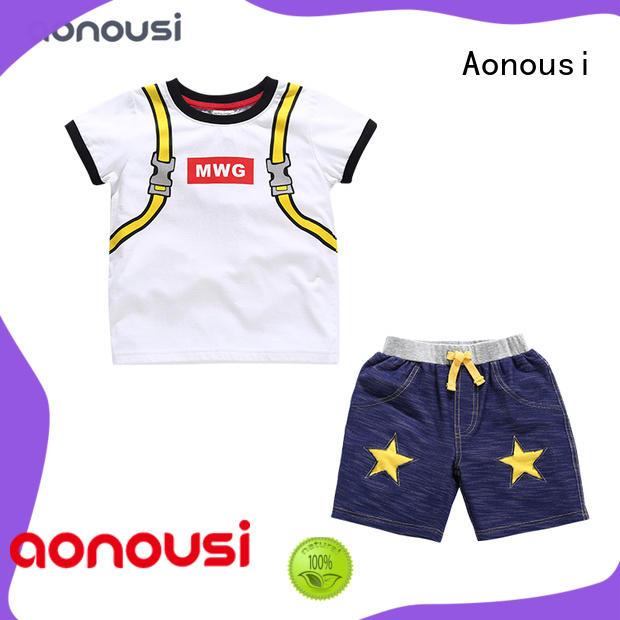 shirts childrens clothing cotton for boys Aonousi