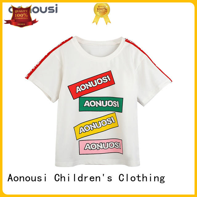 Aonousi fashion little girl fashion clothes for business for girls