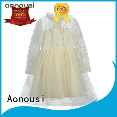 Aonousi red child skirt for girls