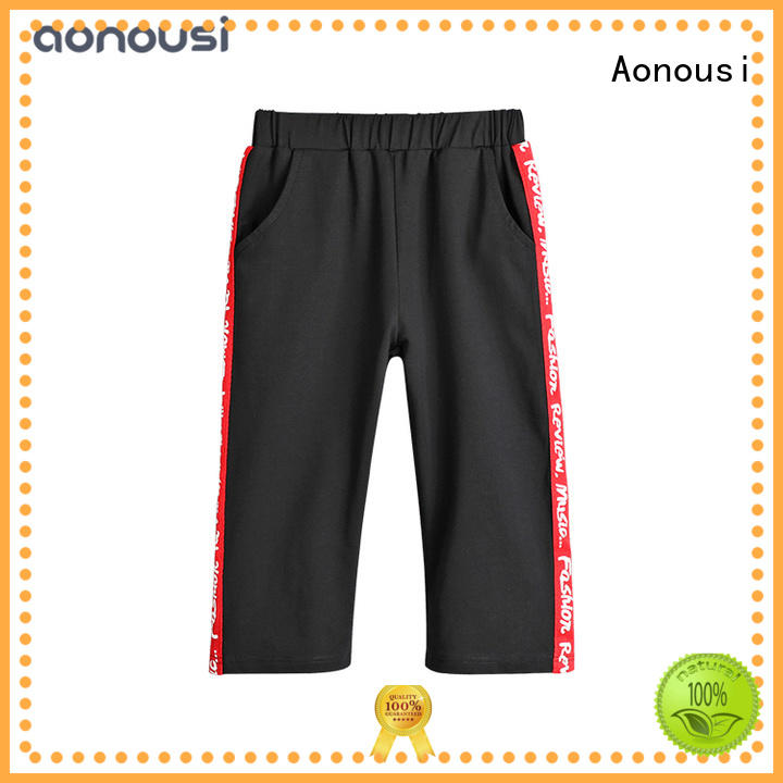 Aonousi Wholesale girls trousers and jeans manufacturers for boys