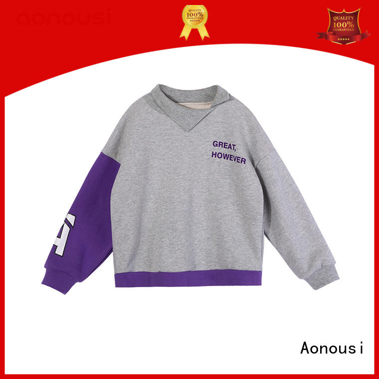 Aonousi newly custom made children's clothing manufacturers for girls