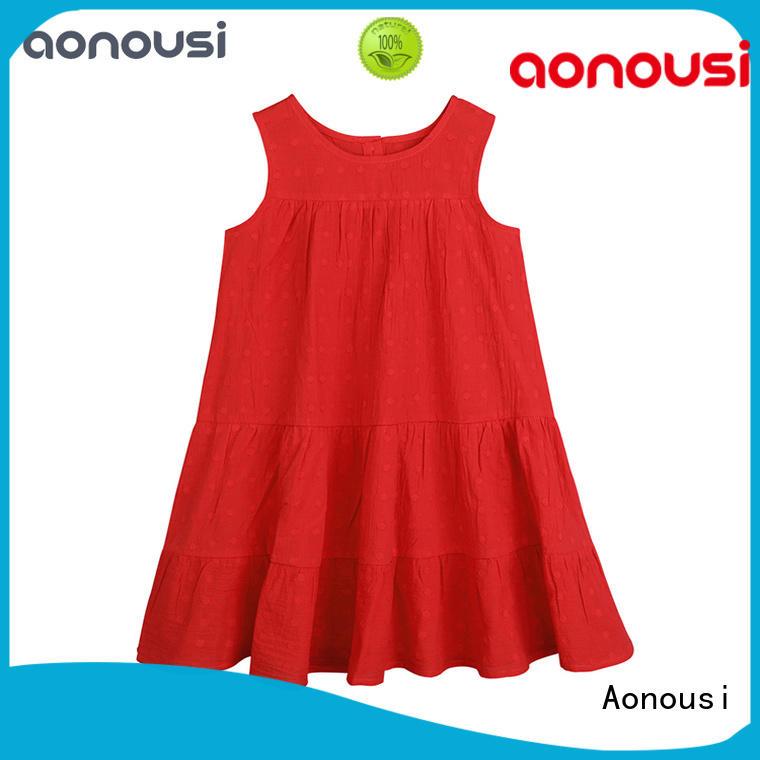 Aonousi High-quality kids skirt dress Supply for kids