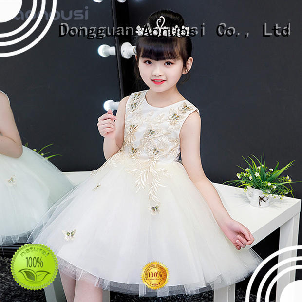 Wholesale party wear dresses for small girl factory