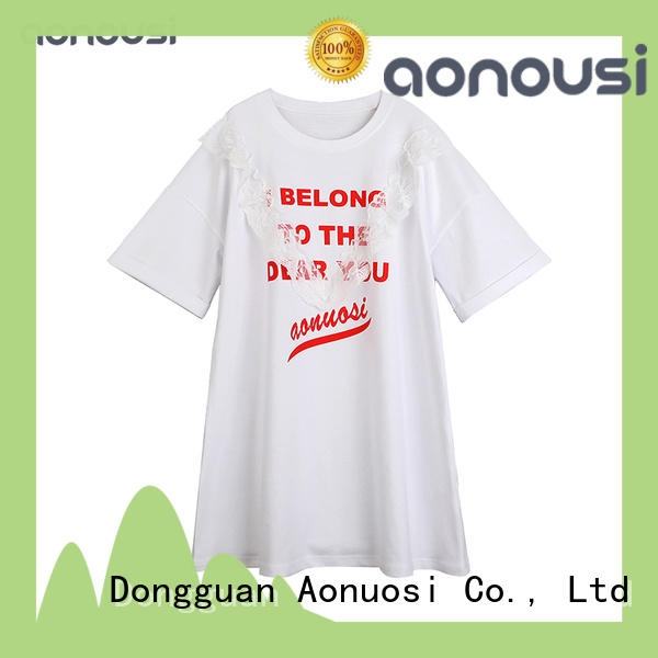 short girl clothing dress for girls Aonousi