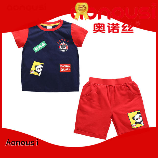 Aonousi Top boys dressy short sets Suppliers for boys
