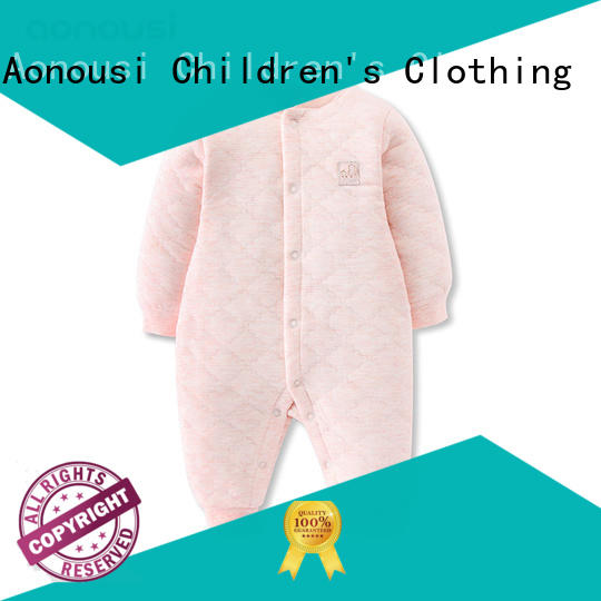Aonousi winter custom kid clothes certifications for kids
