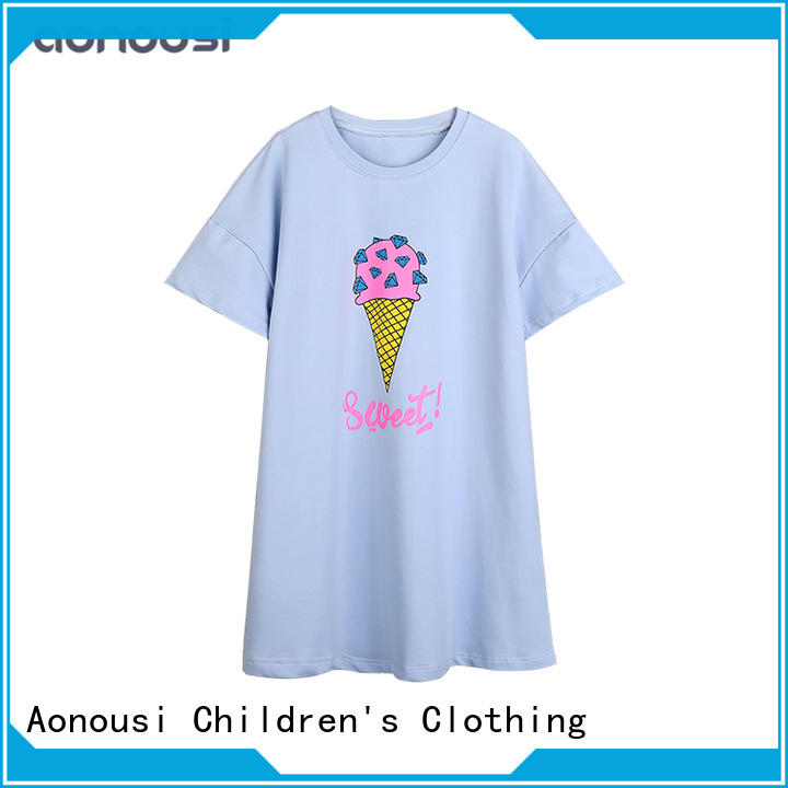 Aonousi newest childrens clothing for girls