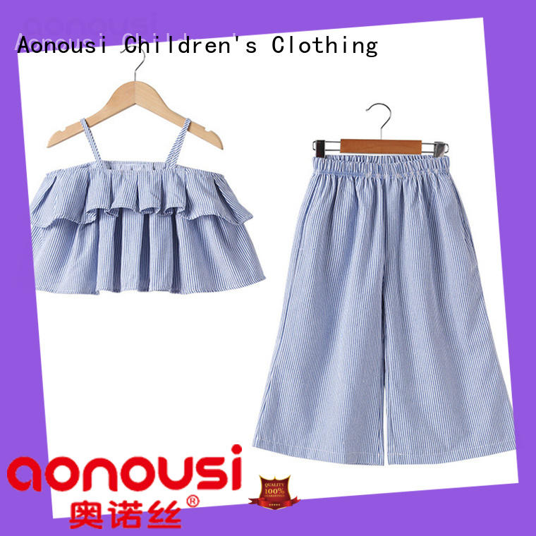 Aonousi shortsleeved baby girl clothes sale for kids for kids