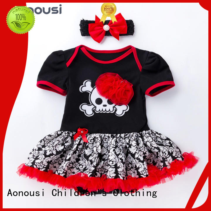 Aonousi cheap christmas party outfits factory for girls