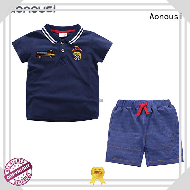 Aonousi pure custom kid clothes company for boys
