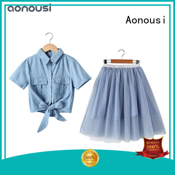 Aonousi excellent girl clothing at discount for girls