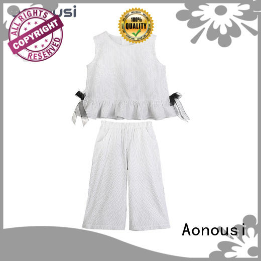 cotton children and baby clothes design for girls Aonousi