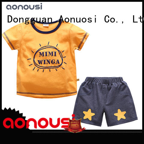 Aonousi newly casual clothes for boys suit for boys