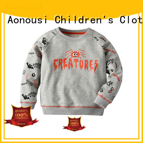 Aonousi newly children and baby clothes cotton for boys