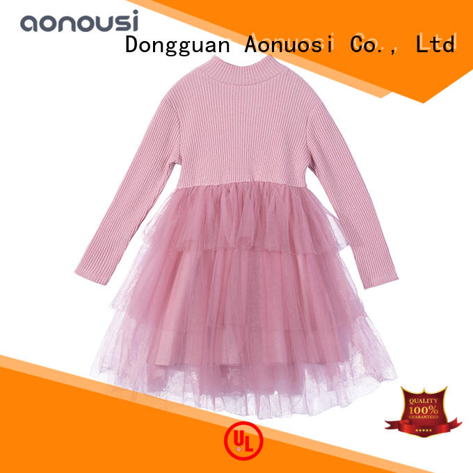 Aonousi Custom cheap girls dresses factory for kids