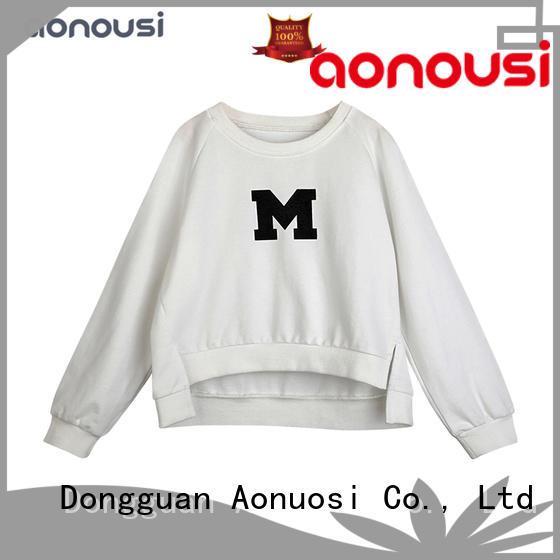 Wholesale girls fashion Spring new hoodies letter logo Hip Hop Sweatshirt Girls long sleeves sweatshirt