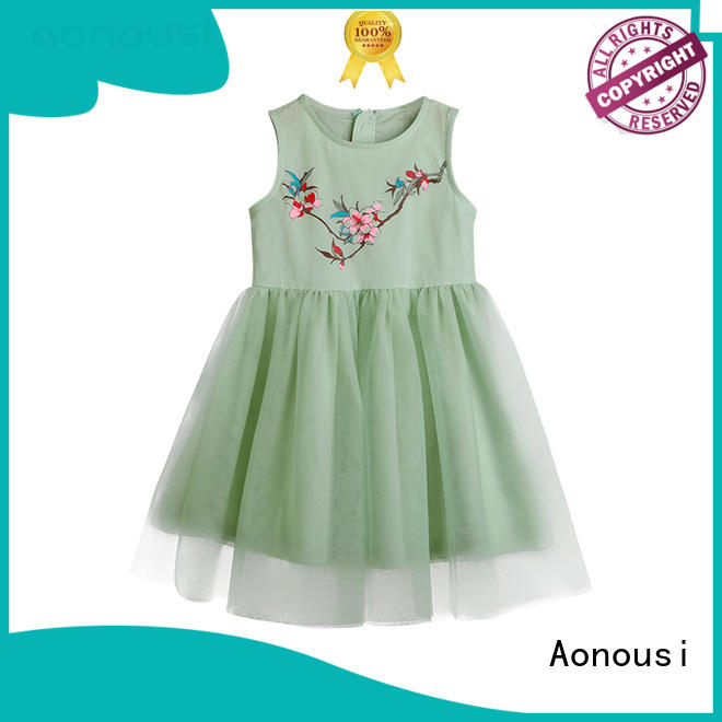 Aonousi fresh baby girl clothes sale factory for kids