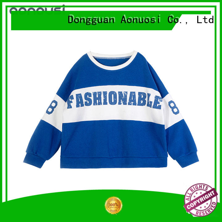 Aonousi stripes fashion cloth for girl for kids