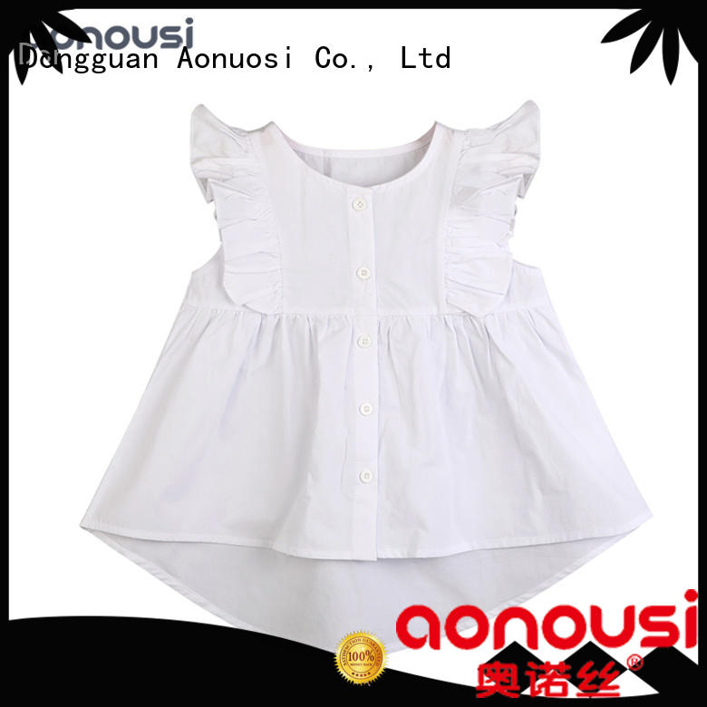 newly custom made kids clothes bulk production for kids Aonousi