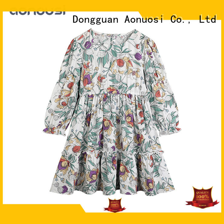 Aonousi hot-sale children's wedding party dresses for business for girls
