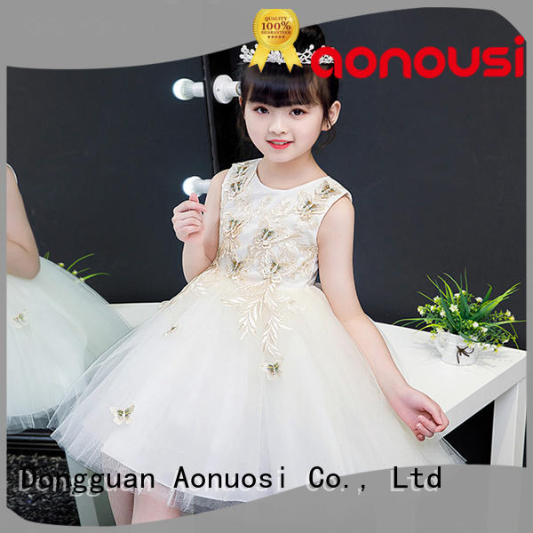 Custom party gowns for 5 year girl manufacturers for girls