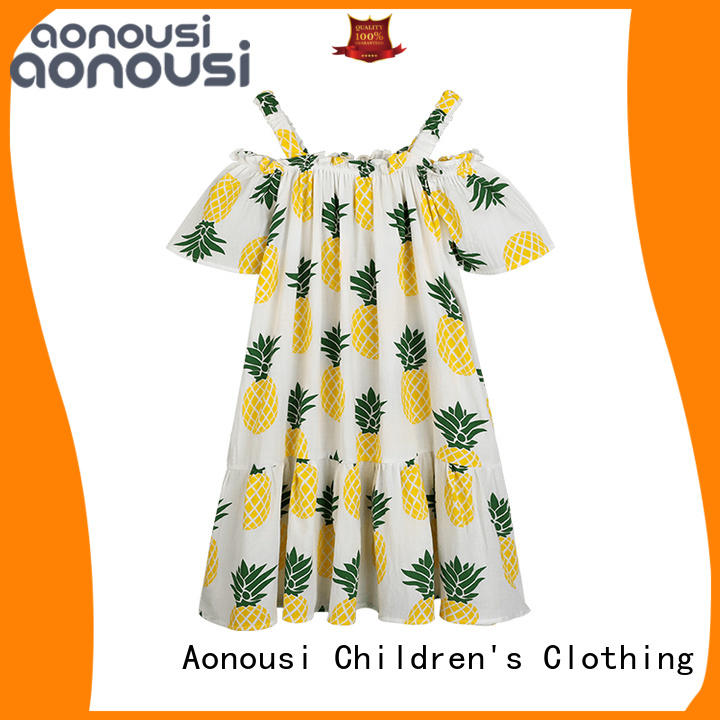 Aonousi fine- quality wholesale baby girl boutique clothing manufacturers for girls