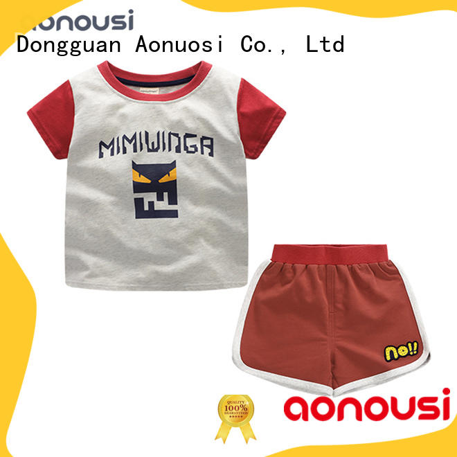 Aonousi Latest simple baby bedding sets manufacturers for boys