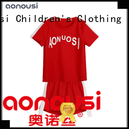 Aonousi cute kids clothes sets Suppliers for girls
