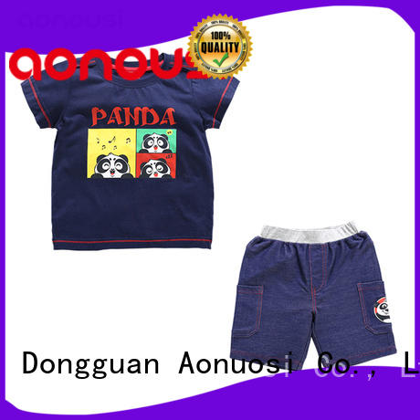 Aonousi cotton wholesale boys clothing suppliers for kids