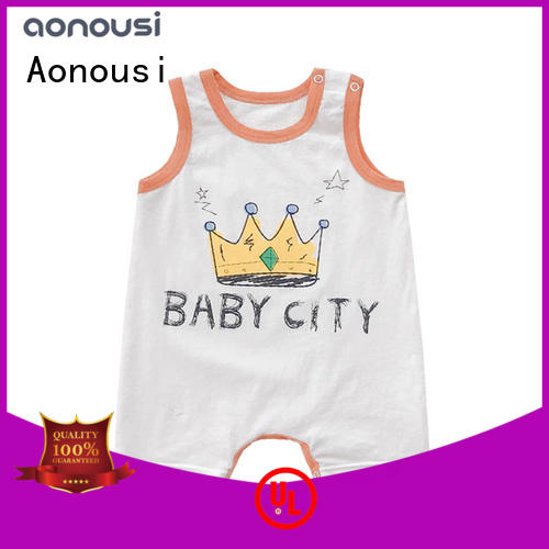 Aonousi cotton trendy baby clothes order now for baby