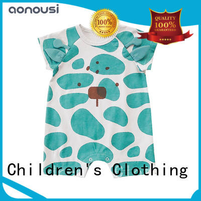 Aonousi comfortable custom baby clothes for kids