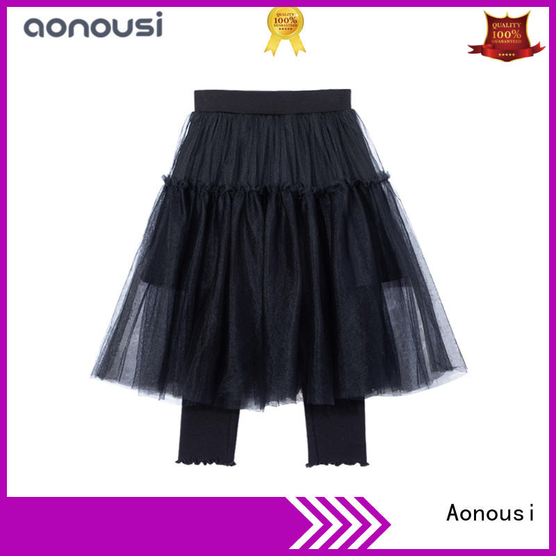 Custom long skirts for small girls doll manufacturers for girls