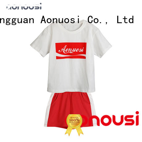 Aonousi style baby girl clothing sets company for kids