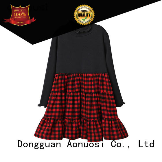 Aonousi  girls casual dresses for kids