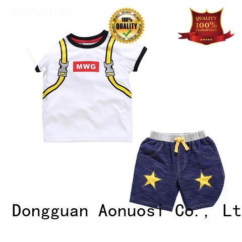 Aonousi kids little boy suit sets for boys