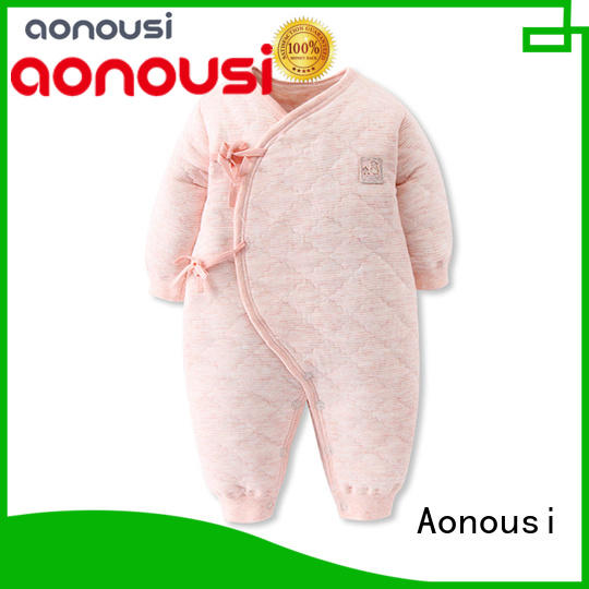 Aonousi thin baby infant clothes wholesale factory for baby