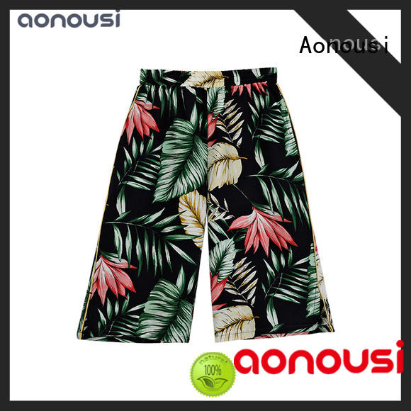 Aonousi new-arrival girls casual trousers Supply for kids