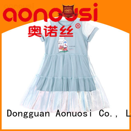 Aonousi Custom trendy clothes for girls for business for kids