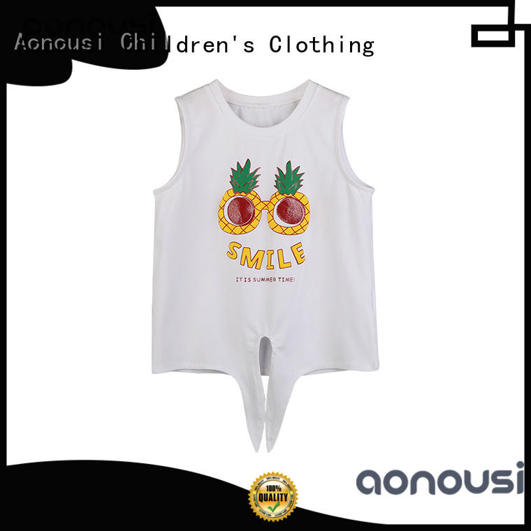 comfortable cheap childrens t shirts design manufacturers for girls
